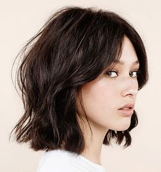 #bob2 The modern classic and George's signature cut, this longer, choppy look is like skinny jeans for hair – it's easy breezy and just never goes out of style. Inspired by George's long term client, Alexa Chung, it's the most requested cut in the salon. Best for: With a grown-out fringe that frames any face beautifully, this is the bob that looks good on everyone. For those with natural wavy texture, it's a great cut. For those with straighter hair, a tong will be your best friend. Styling…