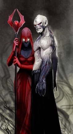 hordak and shadow weaver by *nebezial on deviantART