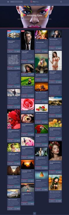 Wordpress Demo, Layout, Free, Style, Swag, Page Layout, Outfits