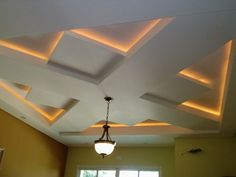 6 Intelligent Tips AND Tricks: False Ceiling Bedroom Contemporary false ceiling design kitchens. Gypsum Ceiling Design, House Ceiling Design, Ceiling Design Living Room, Bedroom False Ceiling Design, False Ceiling Living Room, Home Ceiling, Ceiling Decor, Ceiling Lights, Modern Ceiling Design