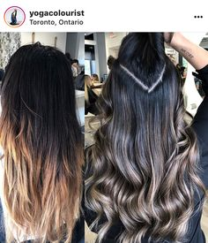 Bayalage, Brown Hair Balayage, Blonde Balayage, Hair Highlights, Ombre Hair, Brown Hair Color Shades, Hair Color And Cut, Hair Cutting Techniques, Work Hairstyles