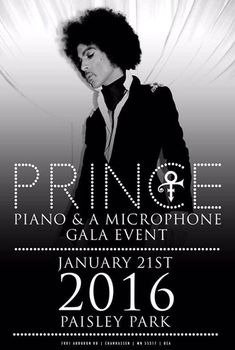 The full transcript of Prince's first ever solo piano performance, and his last performance at Paisley Park before he passed away… [ethereal strings] [single chord & dramatic …