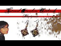 Tutorial orecchini Oriente - (DIY - Oriente Earrings) - YouTube