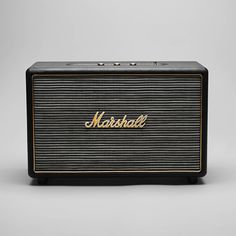 Oh. My God. If Marshall's iPod speaker box don't go to 11 I'll be sorely disappointed.    http://www.marshallheadphones.com/