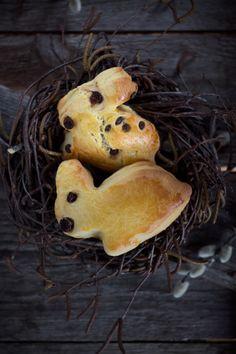 Rezept für Hefegebäck zu Ostern mit Eiern von glücklichen Hühnern