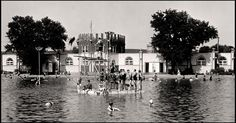 The Peony Park swimming pool in 1932. MIC-KEL PHOTO CO.