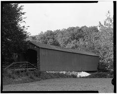 Covered Bridge, Spanning Stranger Creek near Highway K-92, Springdale, Leavenworth County, KS