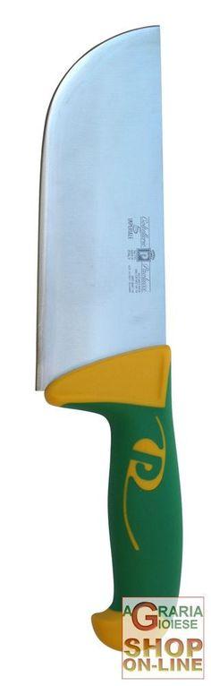 Paolucci Coltello per pesto lama inox manico in polipropilene cm. 18 http://www.decariashop.it/home/12737-paolucci-coltello-per-pesto-lama-inox-manico-in-polipropilene-cm-18.html
