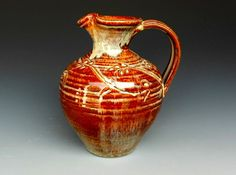 Flower+Vase+Pitcher+by+darshanpottery+on+Etsy,+$54.00