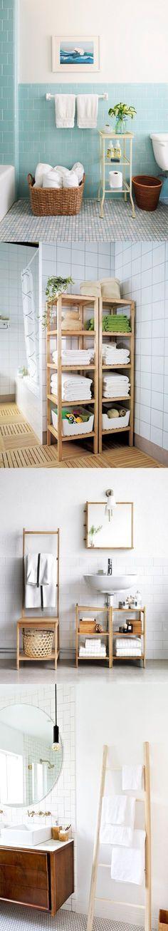 Organiza tu baño de manera sencilla y refrescante.
