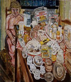 John Bratby   Kitchen Sink Realism   Pinterest   John bratby
