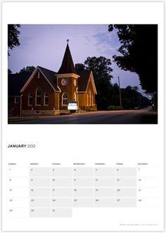 Guthrie United Methodist Church Kentucky - USA Im feeling a road trip back in time!!