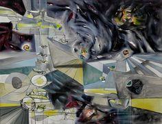 Years of Fear by Matta via Guggenheim Museum  Size: 111.8x142.2 cm  Medium: Oil on canvasSolomon R. Guggenheim Museum, New York © 2016 Artists Rights Society (ARS), New York/ADAGP, Paris  https://www.guggenheim.org/artwork/2838