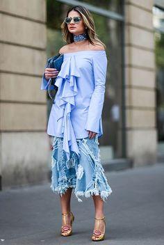 Os lenços são grandes aliados na hora de modernizar os looks e dar muito charme a produção e a melhor parte é que eles estão super em alta e com novo...