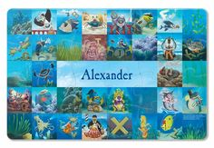 """See Me! I can't stop grinning."""" about this 'My Very Own Pirate Tale' Personalized Placemat Personalised Placemats, Personalized Books For Kids, Personalized Puzzles, Pirate Day, Best Kids Toys, Gifted Kids, Puzzle Pieces, Book Gifts, Pirates"""