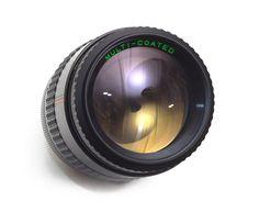 Makinon 135mm f2.8 Telephoto Portrait Prime Lens Macro Pentax K PK Fit DSLR Adaptable mft BMCC by 7Cameras on Etsy