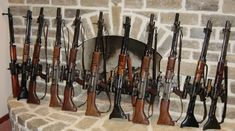 Impressive selection of a few of the remaining known examples of the FG42 - including a pre-production model!