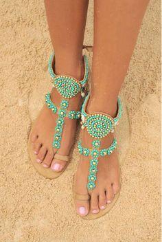 c14e84246 Hot Lava Sandals Sol Hot Lava - Azure   Gold