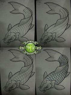 I simply have an appreciation for the different colors, outlines, and depth. This really is the perfect idea if you are looking for a Japanese Drawings, Japanese Art, Meow Tattoo, Coy Fish, Koi Art, Koi Fish Tattoo, Carpe, Japan Tattoo, Oriental Tattoo