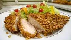 How to Make Nut Crusted Chicken Cutlets Pork Recipes, Seafood Recipes, Wine Recipes, Cooking Recipes, Beef Cutlets, Chicken Cutlets, Chicken Thigh Recipes, Crusted Chicken, Chicken Thighs
