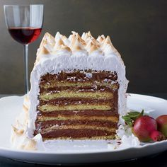 Seven-Layer Dobos Torte #recipe