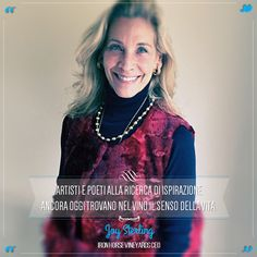 Joy Sterling is the CEO of the winery and a member of the California State Food & Agriculture Board. @marchesimazzei #marchesimazzei #fonterutoli #wine #tuscany #winequotes