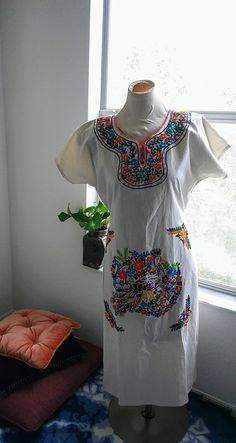 Mexican Boho Dress Esty Define self Define Self, Bohemian Style, Bohemian Fashion, Mexican Dresses, Boho Dress, My Etsy Shop, Cover Up, Cold Shoulder Dress, Esty