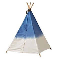A Teepee to Call Your Own (Dip Dye Denim) | The Land of Nod
