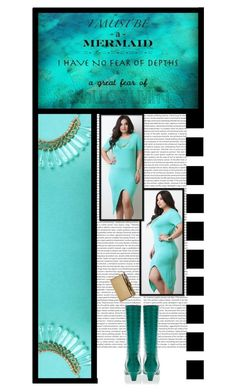 """""""Gioellia Boutique (37)"""" by irresistible-livingdeadgirl ❤ liked on Polyvore featuring Marni, Edie Parker, teal, mermaid, marni and edieparker"""