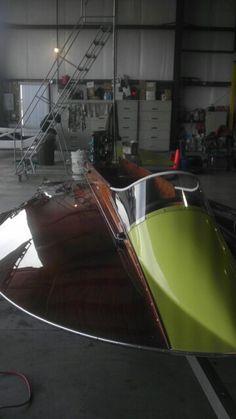 A modified Mercury outboard motor