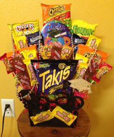 Graduation candy arrangement