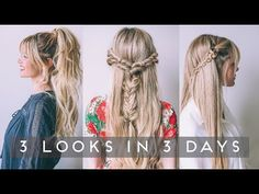 TUTORIAL | 3 Looks for 3 Days - YouTube