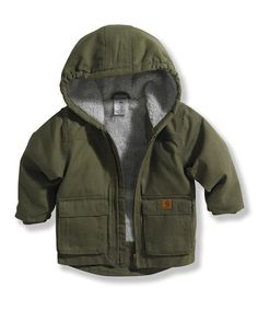 Take a look at this Ivy Green Jackson Jacket - Infant & Toddler by Carhartt on #zulily today!