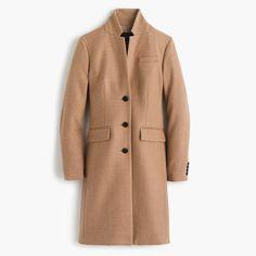 Petite Regent topcoat in double-serge wool (NOTE: seen here -- http://thecorporatecatwalk.com/2017/01/18/3-ways-im-balancing-life-baby/ )