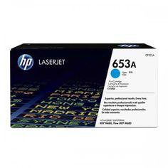 HP oryginalny toner CF321A, cyan, 16500s, HP 653A, HP Color LaserJet Enterprise Flow M680z, M680dn, M680