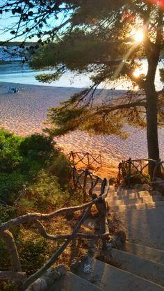 Playa Arenal d'en Castell. Menorca. Spain