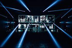 LabeLive Supplies Elation Platinum Series Lighting Rig For Lecrae Tour Stage Set Design, Event Design, Laser Stage Lighting, Concert Stage Design, Concert Lights, Video Wall, Hip Hop Artists, Screen Design, Sound Design