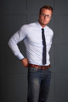 Great look for casual Friday. Basic Fashion, Daily Fashion, Mens Fashion, Looks Style, Looks Cool, Men's Style, Estilo Dandy, Costume Sexy, Moda Formal