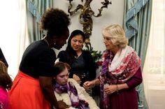 Camilla Parker Bowles Photos: Camilla Parker Bowles Hosts a Christmas Lunch