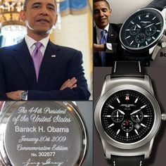 Obama's Jorg Gray watch face preview