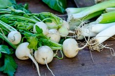 Roasted Turnips with Green Onions on Green BEAN Delivery's Healthy Times Blog