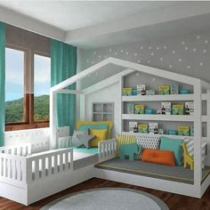 What follows next are 15 multi-purpose furniture for small kids room that you are going to like!