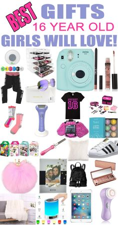 Best Gift Ideas And Suggestions For 16 Yr Old Girls Top Presents A Girl On Her Sixteenth Birthday Or Christmas Great Sweet Sixteen