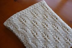 Ravelry: Project Gallery for Wool Leaves pattern by Jared Flood