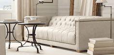 Restoration Hardware...Savoy Collection sofa.  Nice detailing.