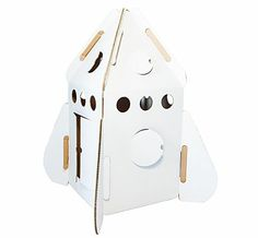 Featuring socially responsible and eco-friendly brands for kids and women Cardboard Rocket, Leo, Ace And Jig, Sustainable Gifts, Play Houses, Decoration, Home Goods, Kids Room, Home And Family