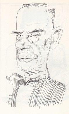 Tullio Pericoli  Thomas Mann