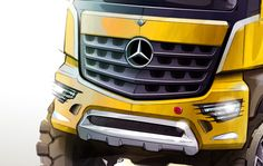 Mercedes-Benz Arocs Design Sketch detail