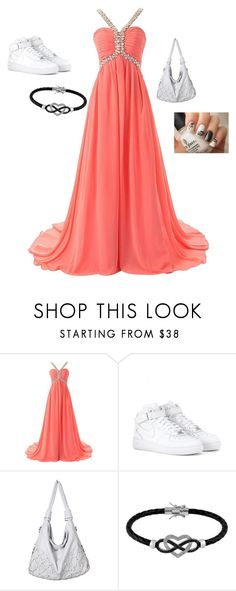 """""""Leo-fancy MADE BY KYLIE"""" by supersquirrelgirlq ❤ liked on Polyvore featuring NIKE and Jewel Exclusive"""