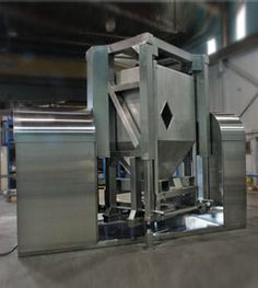 Stainless steel industrial and pharmaceutical blenders by Ability Fabricators Inc. Stainless Steel Blender, Hepa Filter, Blenders, Mixers, Welding, Container, Products, Soldering, Welding Projects